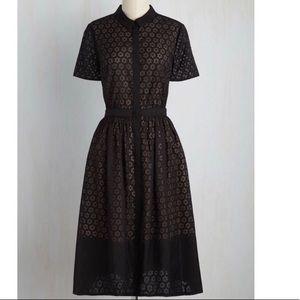 Wendy Bird ModCloth Erin Fetherston black dress. 2